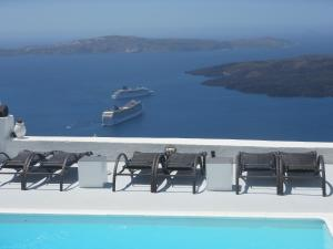 Nomikos Villas, Aparthotely  Fira - big - 24