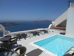 Nomikos Villas, Aparthotely  Fira - big - 1