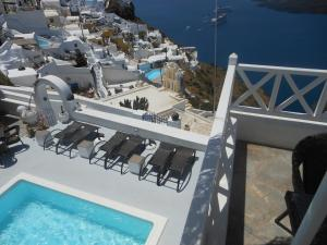 Nomikos Villas, Aparthotely  Fira - big - 21