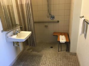 Queen Room with Roll in Shower