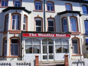 The Woodley Hotel in Blackpool, Lancashire, England