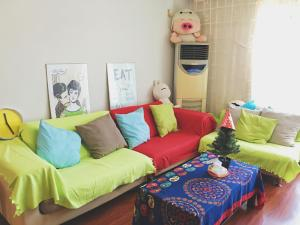 Suzhou Amusement Land Family Apartment, Apartments  Suzhou - big - 15