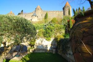 Sous les courtines, Holiday homes  Carcassonne - big - 11