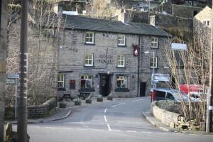 The White Horse Inn in Holmfirth, West Yorkshire, England