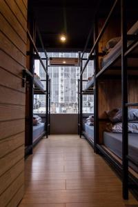 Bed in 8-Bed in Mixed Dormitory Room with City View - Type B