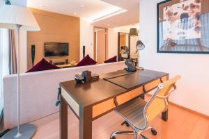 The Pushi 188 Serviced Apartment, Appartamenti  Suzhou - big - 35