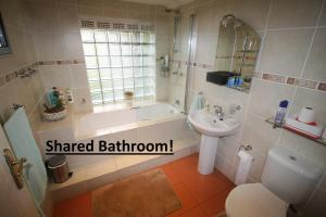 Family Double or Twin Room with Shared Bathroom