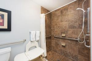 King Room Mobility/Accessible with Roll in Shower