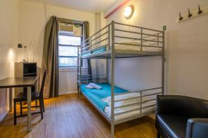 Single Bed in 2-Bed Mixed Dormitory Shared Bath