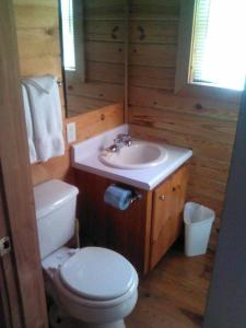 Riverside One-Bedroom Cabin with Spa Bath