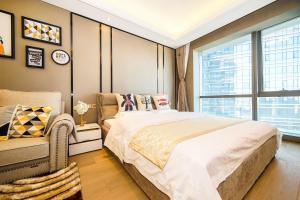Travel in Peace Apartment, Apartmány  Suzhou - big - 8