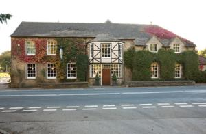 Hunters Hall Inn in Kingscote, Gloucestershire, England