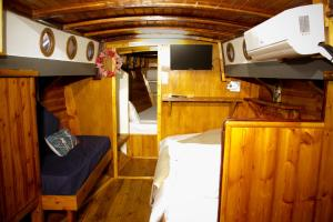Family Cabin on Boat