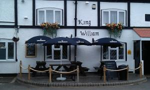King William in Luton, Bedfordshire, England