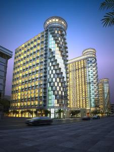 Batumi Sea tower at Sharon's, Apartments  Batumi - big - 7