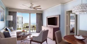Ocean View One Bedroom Residential Suite with Balcony