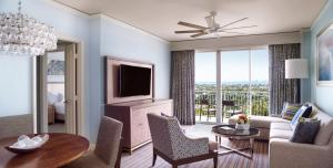 Residential One-Bedroom Suite with Resort View