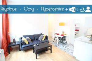 Bel appartement hypercentre, Victor Hugo, Apartmány  Bordeaux - big - 9