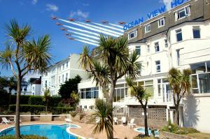 The Ocean View Hotel in Bournemouth, Dorset, England