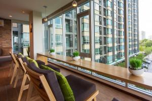 1BR in U Delight at Huamak Station, Ferienwohnungen  Bang Kapi - big - 18