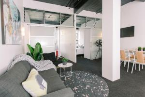 Towny Downtown Haven - 2 Bedrooms, Apartmány  Auckland - big - 7