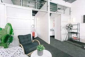 Towny Downtown Haven - 2 Bedrooms, Apartmány  Auckland - big - 11
