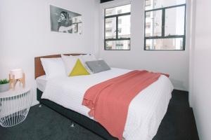 Towny Downtown Haven - 2 Bedrooms, Apartmány  Auckland - big - 20