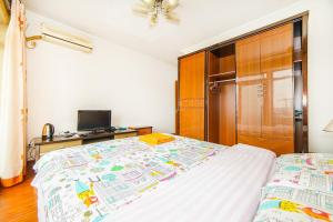 Suzhou Amusement Land Family Apartment, Apartments  Suzhou - big - 37