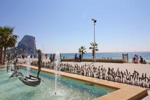 Holiday Apartment Oceanic, Apartmanok  Calpe - big - 15