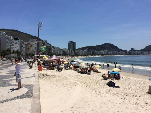 Copacabana On the Beach Block Photo