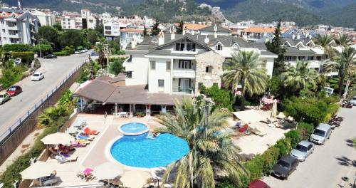 Marmaris Greenpark Apartments odalar