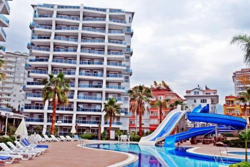 Alanya Crystal Garden Apartment adres