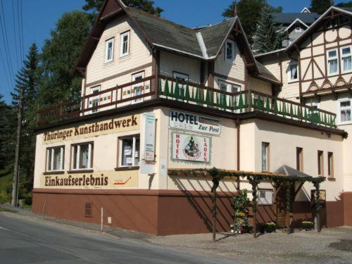 Hotel Zur Post Lauscha Photo