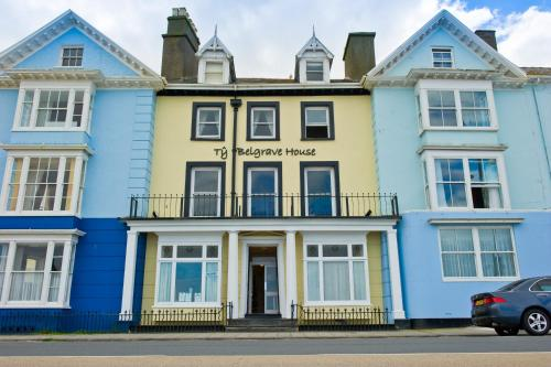 Photo of Belgrave House Hotel Bed and Breakfast Accommodation in Aberystwyth Ceredigion