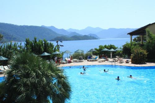 Marmaris Club Nimara Beach Resort Hotel ulaşım