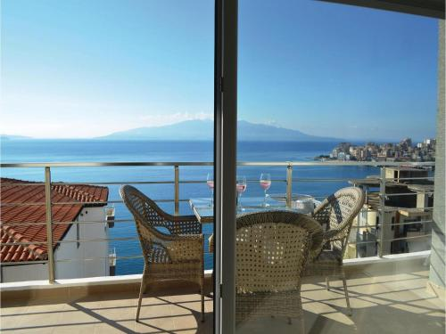 Two-Bedroom Apartment in Sarande, Саранда
