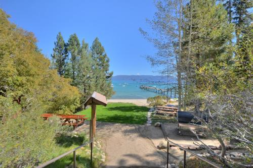 Cabin Fronts Beach on Lake Tahoe's West Shore - Lake Tahoe, CA 96142