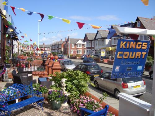 Photo of The Kings Court Hotel Hotel Bed and Breakfast Accommodation in Blackpool Lancashire