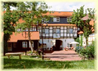 Am Anger, green hotel in Wernigerode, Germany