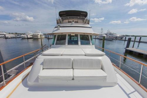 The Hatteras Yacht Boat
