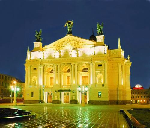 Apartaments Opera House 3 rooms, Lviv