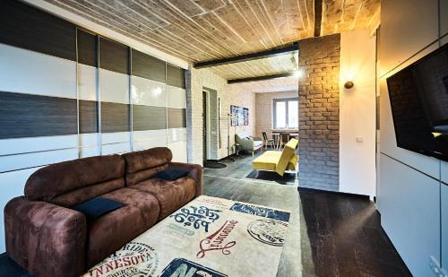 Apartment Loft .History center Minsk, 明斯克