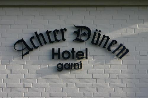 Hotel Achter Dünem (Bed & Breakfast)