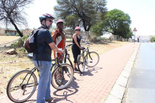 Authentic Bicycle Tours and Back Packers, Soweto