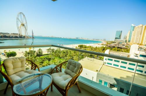 Hometown Apartments - Spectacular 2BR w/ Picturesque SeaViews, Dubai