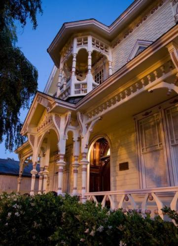 Victorian Mansion At Los Alamos Photo
