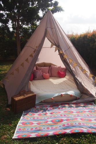 Small Tipi Tent By The Sea, Singapur