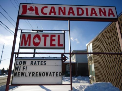 Canadiana Motel Photo