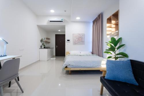 Minimalist Apartment 5 mins to CBD / Free Pool & Gym, Ho Chi Minh