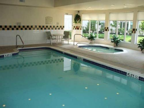Hilton garden inn columbus airport in columbus oh swimming pool indoor pool restaurant Hilton garden inn columbus ohio airport